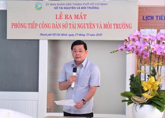 Sở Tài nguyên và Môi trường Thành phố Hồ Chí Minh ra mắt Phòng tiếp công dân mới